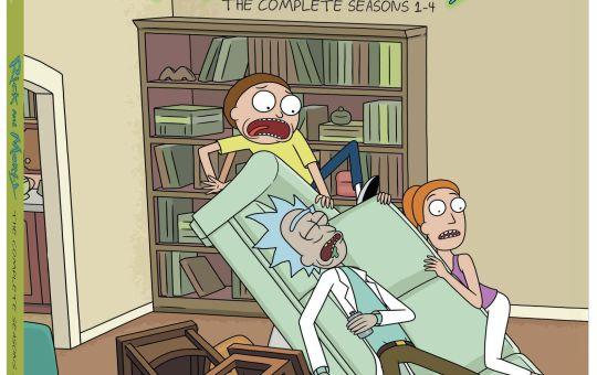 Rick and Morty Season 1 to 4 DVD Blu-ray set