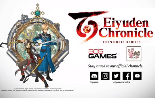 Eiyuden Chronicle Hundred Heroes game