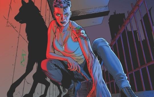 Black's Myth comic book cover