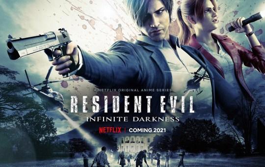 Resident Evil Infinite Darkness Teaser Art