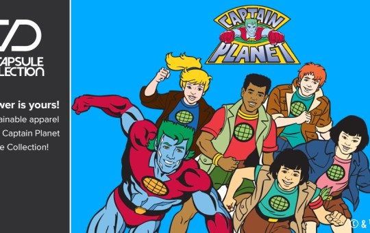 captain planet capsule collection loot crate