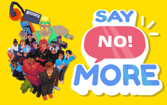 Say No More game release