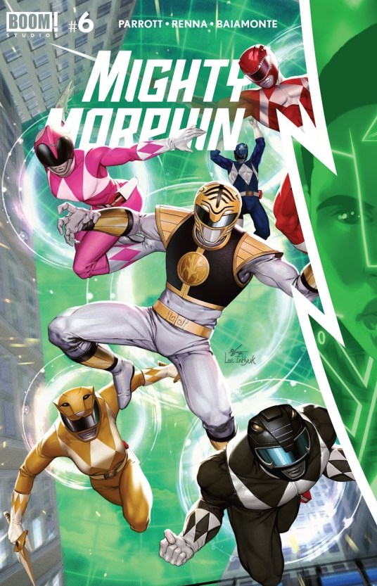 Mighty Morphin issue 6 review