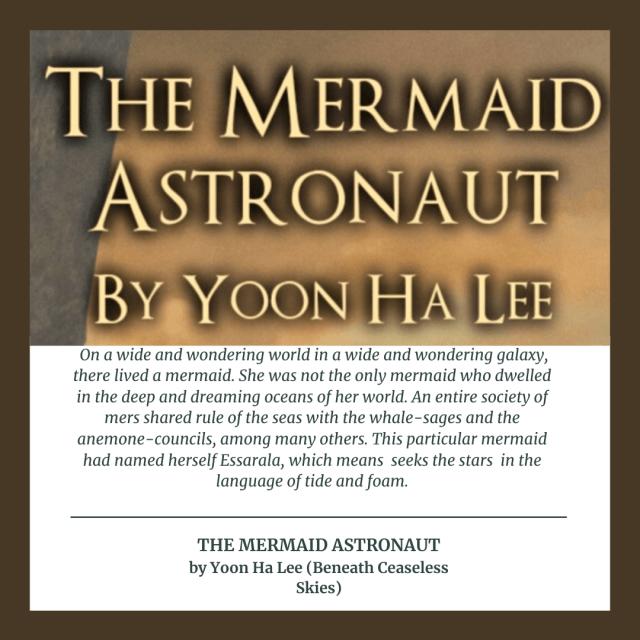 Yoon Ha Lee's Mermaid Astronaut
