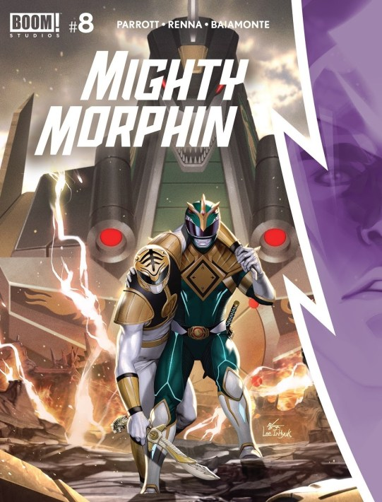 Mighty Morphin issue 8 review