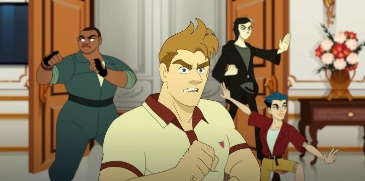 Q-Force animated series on Netflix