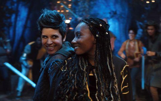 Dana and Rachel Mythic Quest
