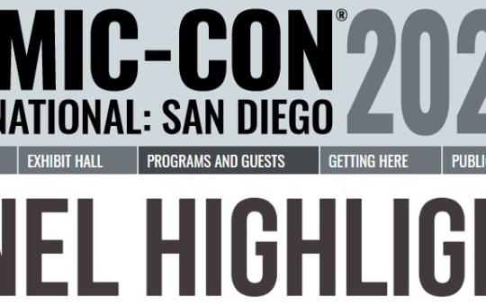 SDCC 2021 Panel Highlights