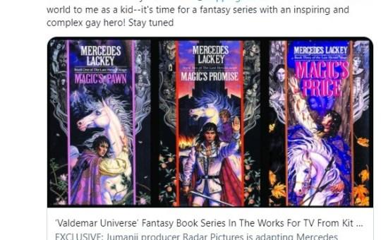Valdemar book series TV show