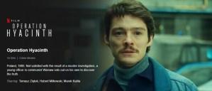 Operation Hyacinth Netflix movie