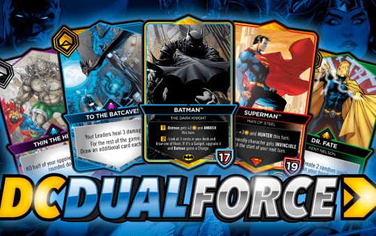 DC Dual Force card game 2022