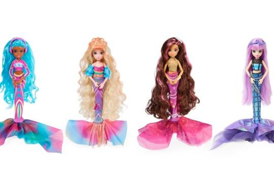 mermaid high fashion dolls Spin Master