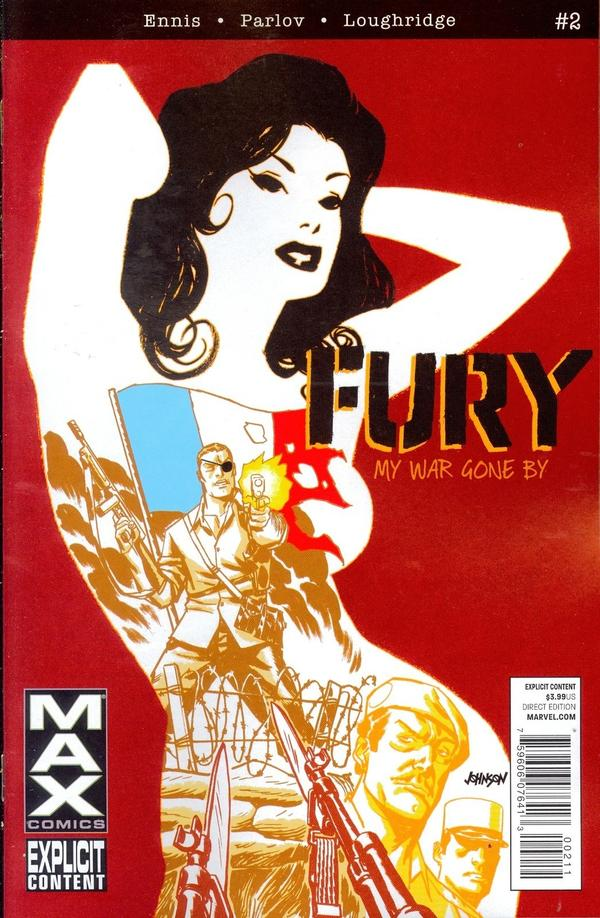 Fury Max #2 cover by Dave Johnson
