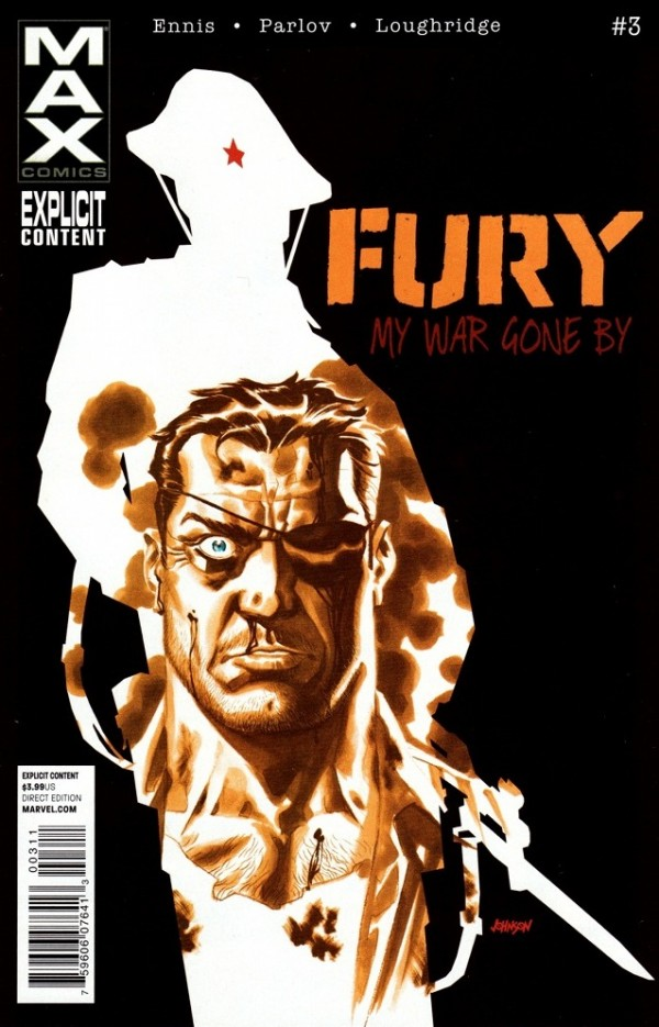 Fury Max #3 cover by Dave Johnson