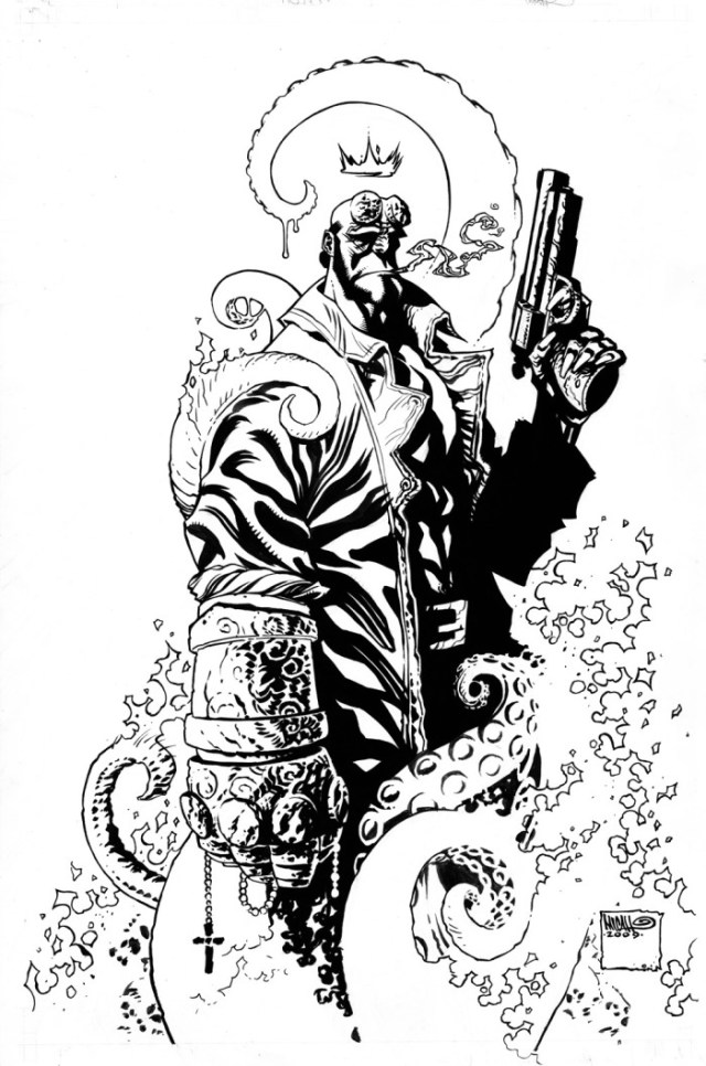 Hellboy by Micah J. Gunnell