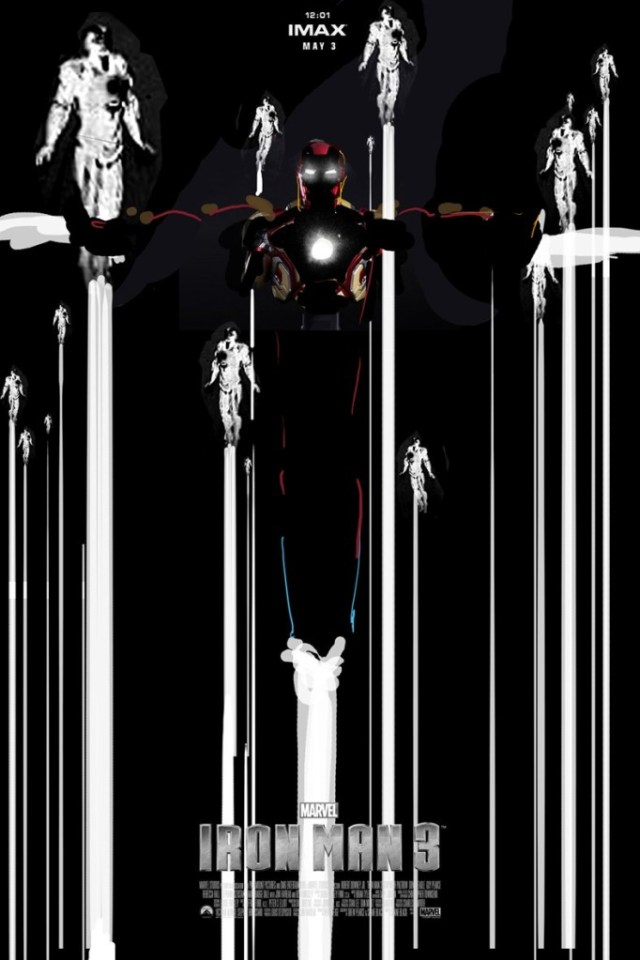 Iron Man 3 poster 2 by Jock