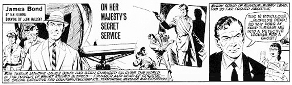 James Bond Comic Strip