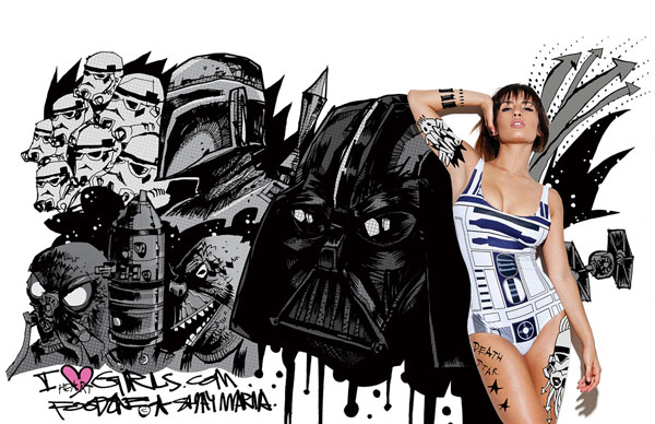Jim Mahfoof Star Wars Art and Shay Maria