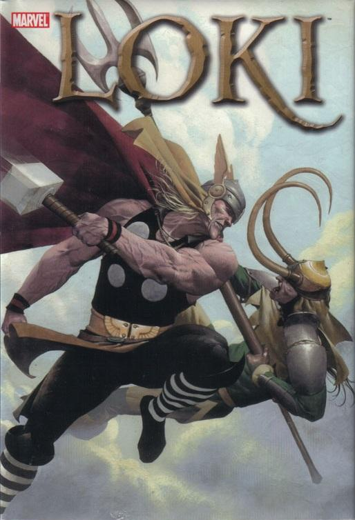 Loki #1 cover by Esad Ribic