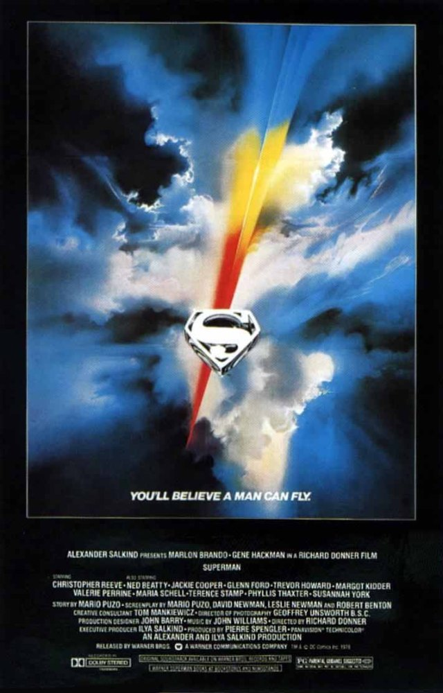 Superman (1978) movie poster