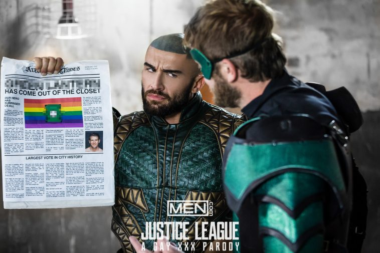 justice league gay parody