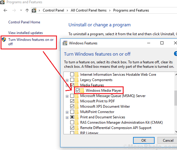 Re Install Windows Media Player21