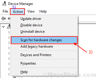 Scan For Hardware Change