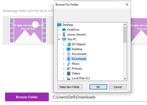 Browse Folder Live Wallpaper