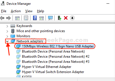 Network Adapter Detect