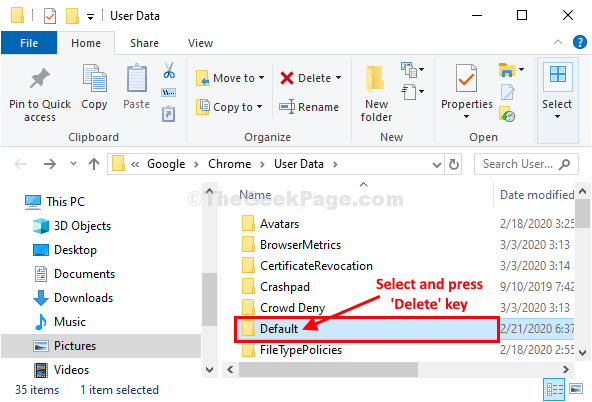 Select Delete