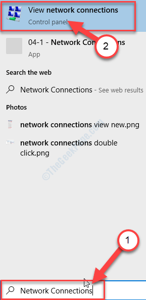 View Network Connections