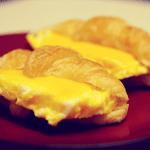 5 Minute Croissant Sandwich
