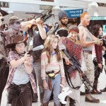 The Walking Dead Group Cosplay at Comikaze 2014
