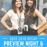 San Diego Comic Con 2016 Preview Night