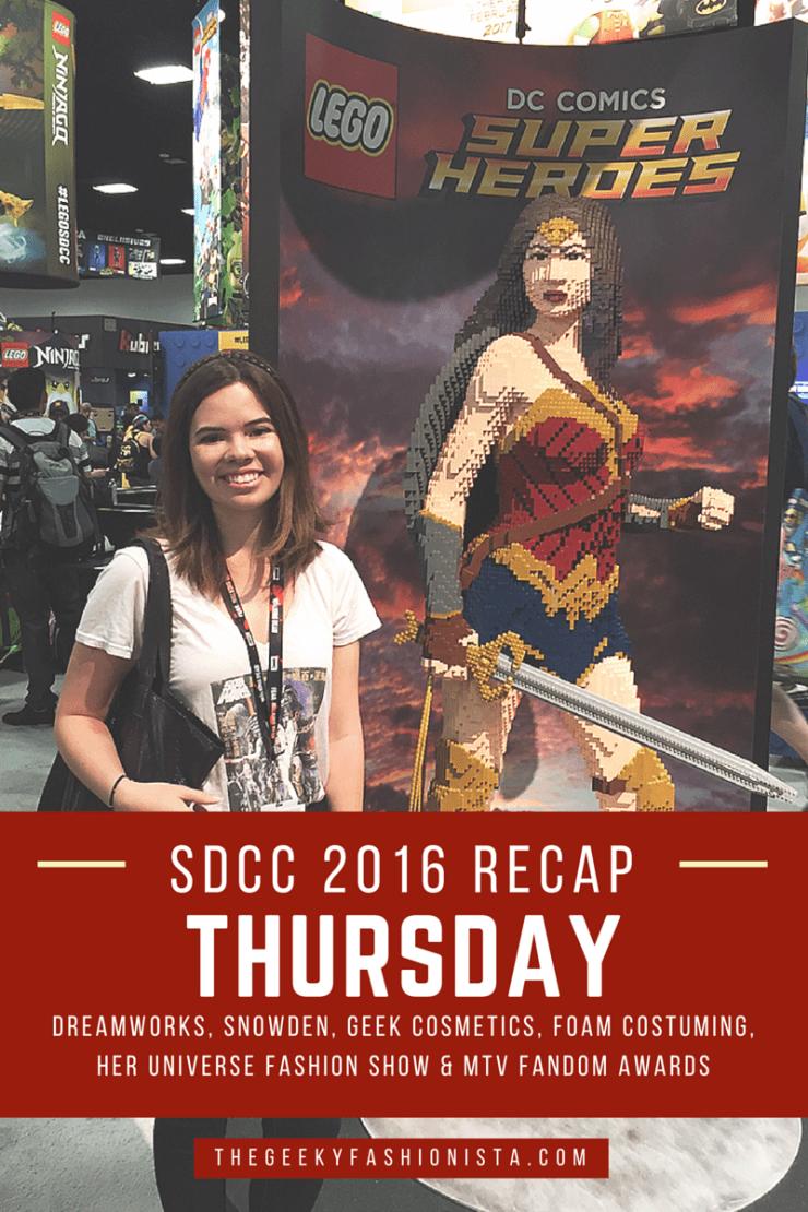 San Diego Comic Con Thursday
