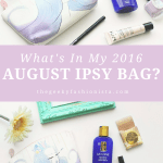 2016 August Ipsy Glam Bag Unboxing