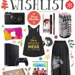 My 2016 Christmas Wishlist