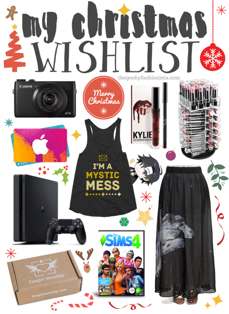 My 2016 Christmas Wishlist
