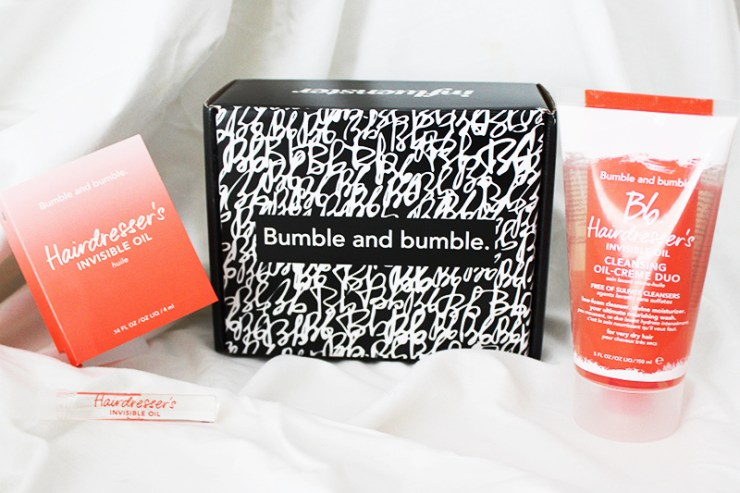 Bumble and Bumble Cleansing Oil-Creme Duo Review // The Geeky Fashionista