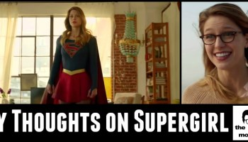 Soaring with Supergirl - the geeky mormon