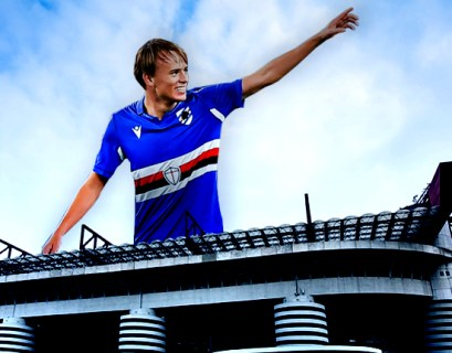 Damsgaard gigante della Sampdoria