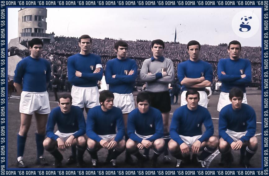 Formazione Roma 1968