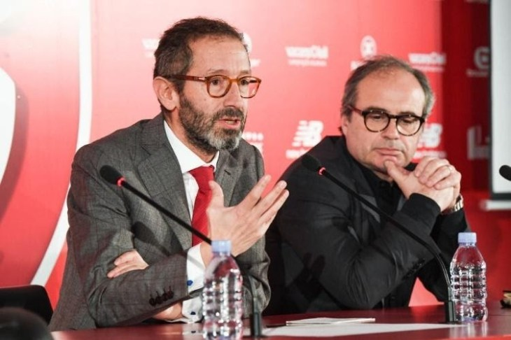 Luis Campos e Marc Ingla