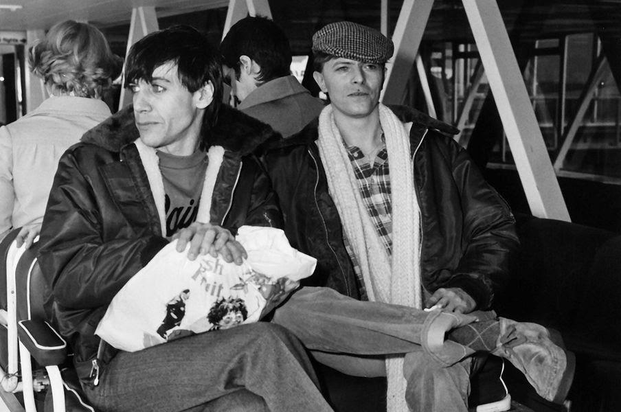 David Bowie e Iggy Pop