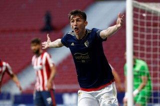 Ante Budimir in gol contro l'Atletico