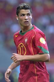 Cristiano Ronaldo a Euro 2004