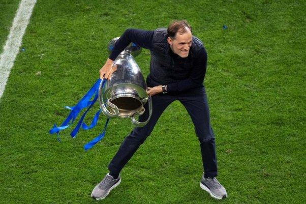 Thomas Tuchel con la Champions appena vinta