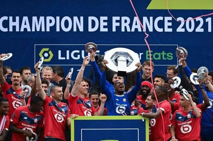 Mike Maignan campione di Francia con il Lille