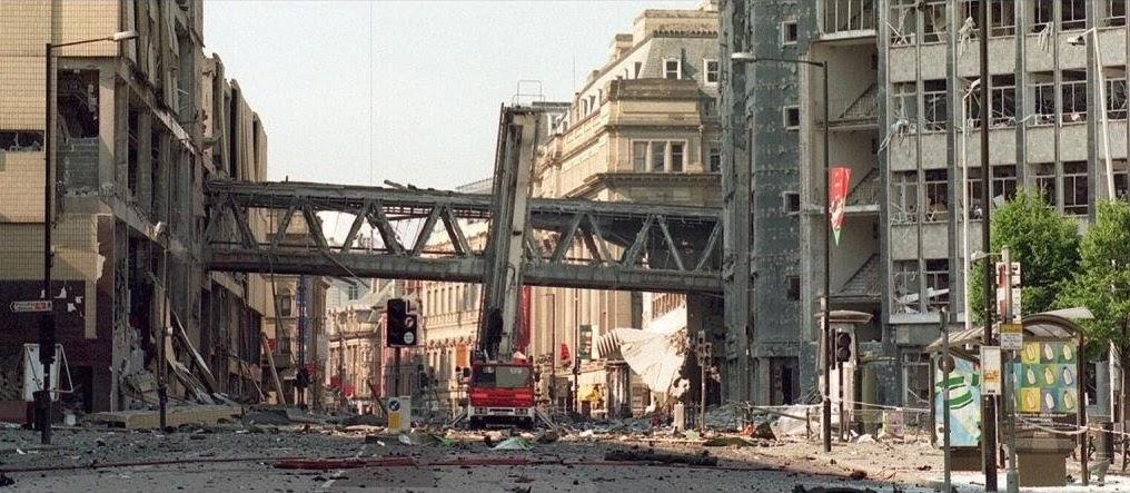 Attentato dell'IRA a Manchester