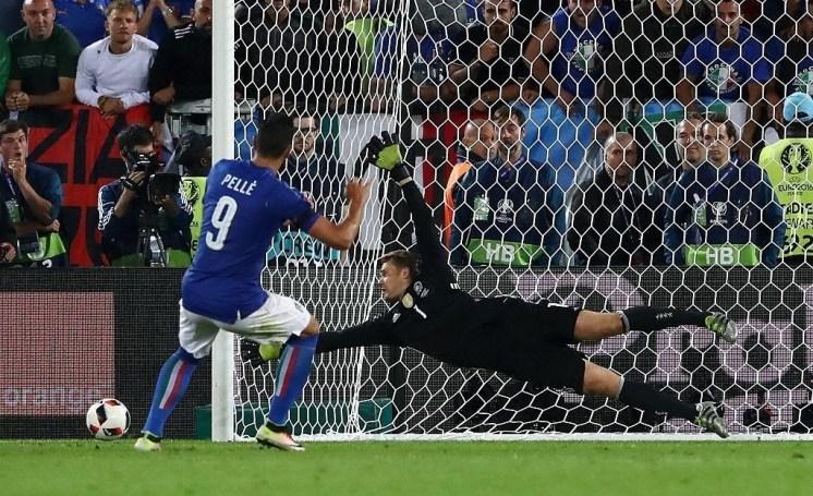 Pellè rigore contro Germania
